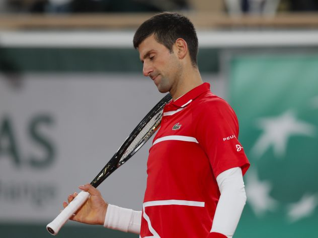 Novak Djokovic could do nothing to counter the brilliance of Rafael Nadal