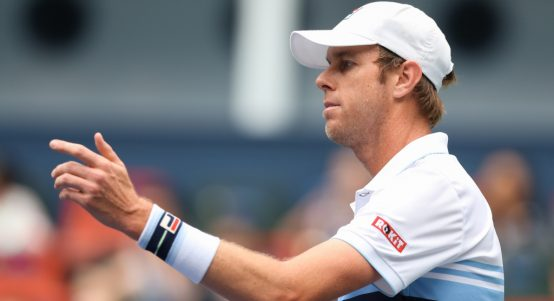 Sam Querrey in action