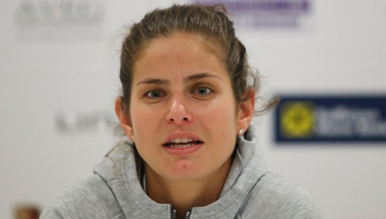 Julia Goerges press conference