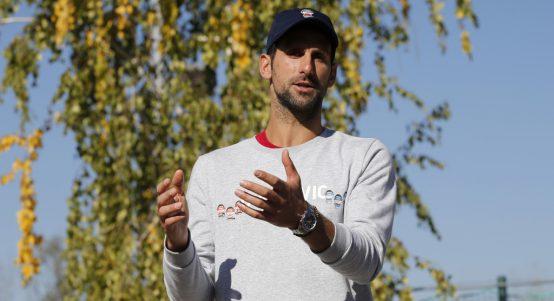 Novak Djokovic in conversation