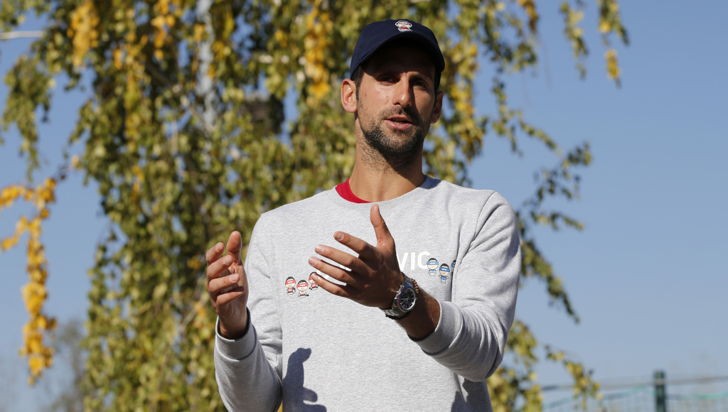 Novak Djokovic in conversation