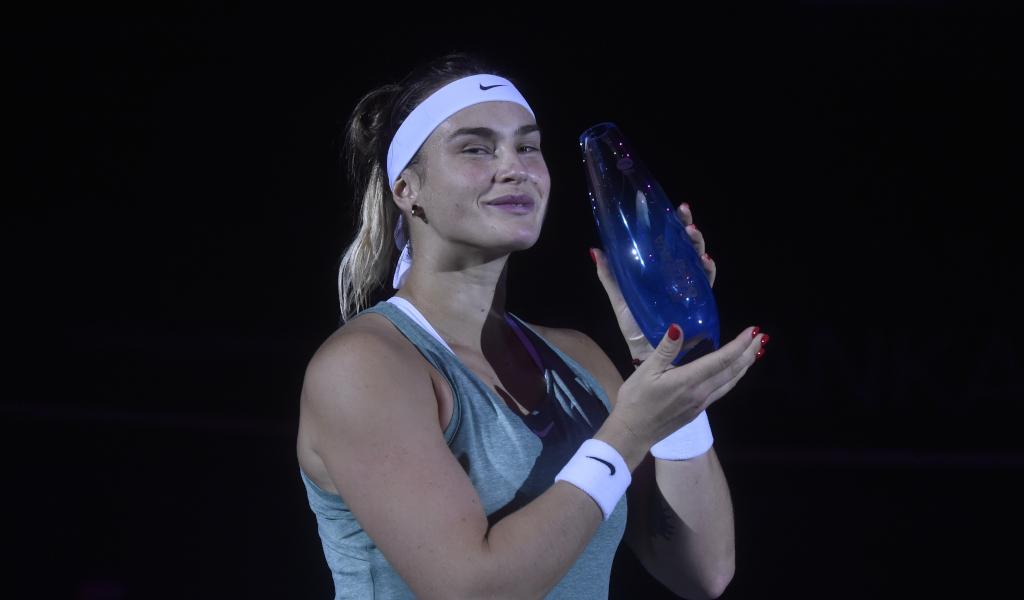 Aryna Sabalenka Ostrava Open champion