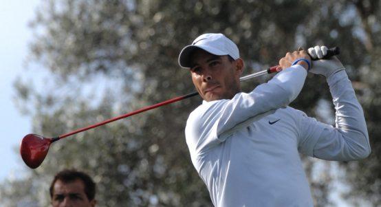 Rafael Nadal the golfer