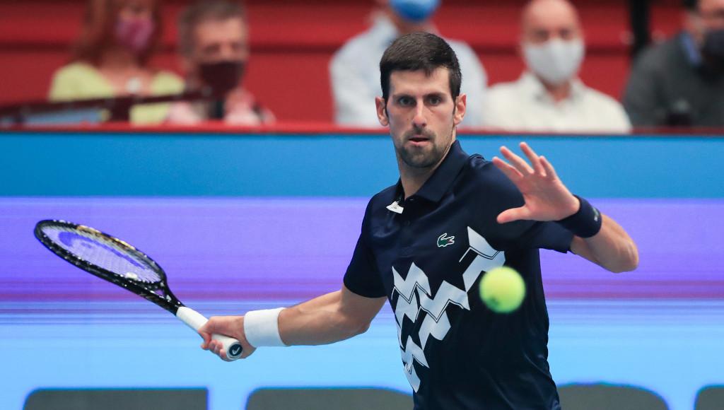 Novak Djokovic forehand