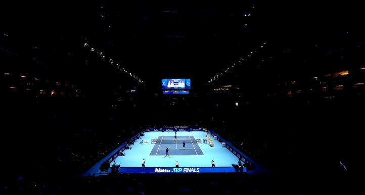 ATP Finals at London's O2 Arena