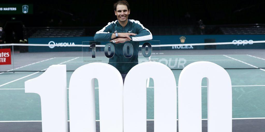 Rafael Nadal 1000 ATP match wins