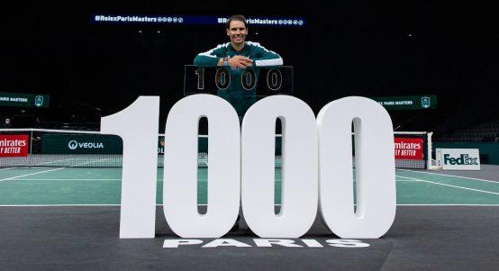 Rafael Nadal 1000 match wins