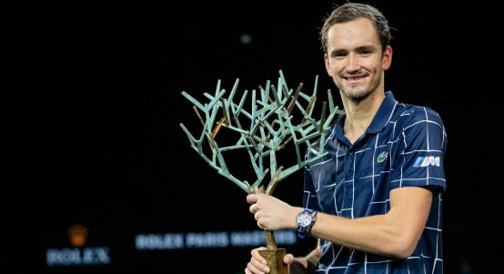 Daniil Medvedev Paris Masters champion