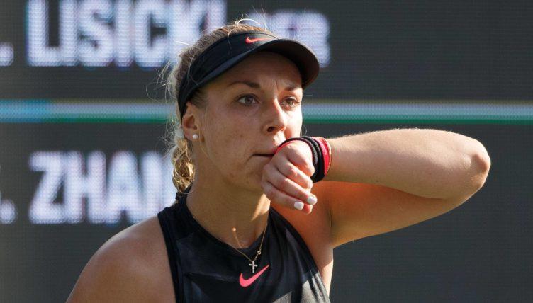 Sabine Lisicki in action