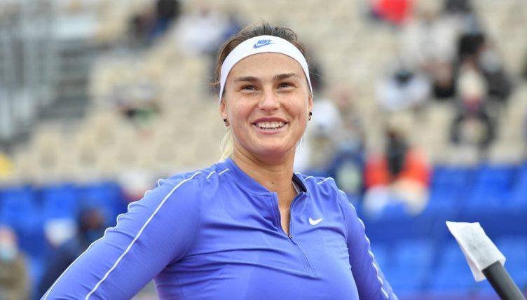 Aryna Sabalenka pleased