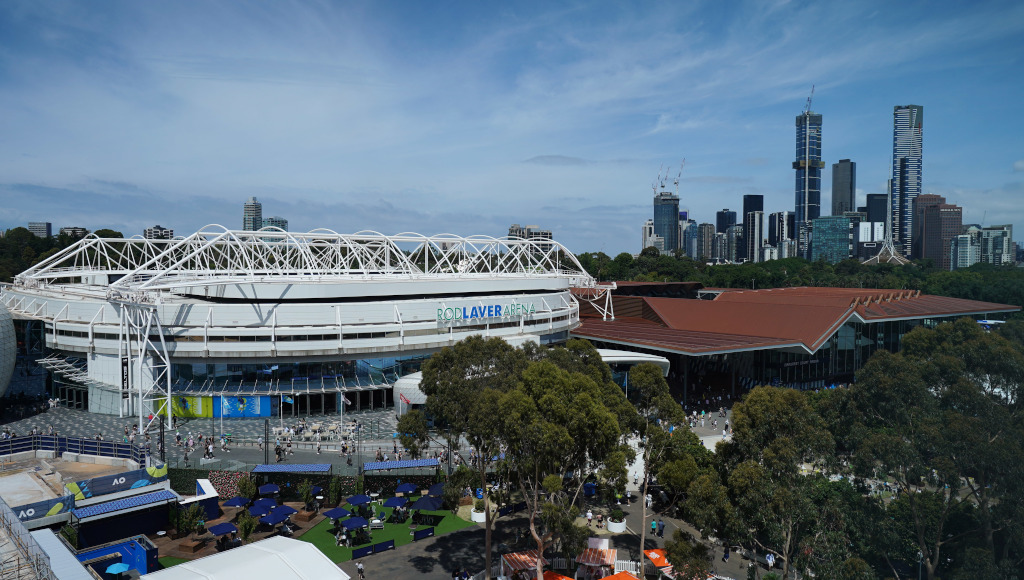 Australian Open Melbourne Rod Laver Arena