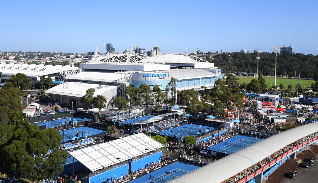 Australian Open Melbourne Park overview