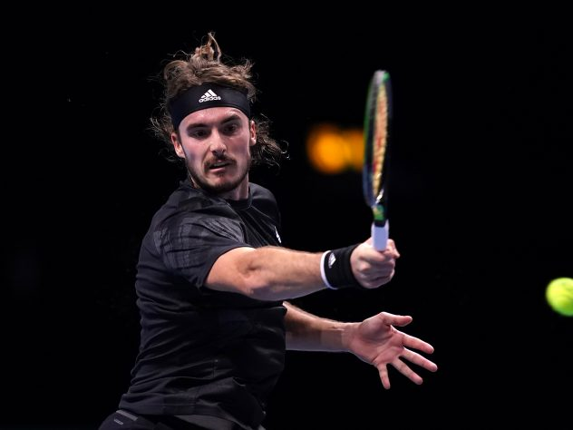 Stefanos Tsitsipas saw his title defence end on Thursday