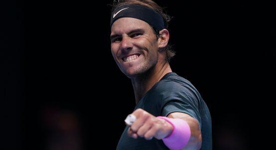 Rafael Nadal pleased