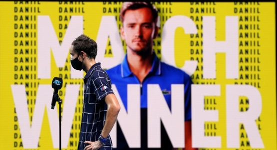 Daniil Medvedev post-match