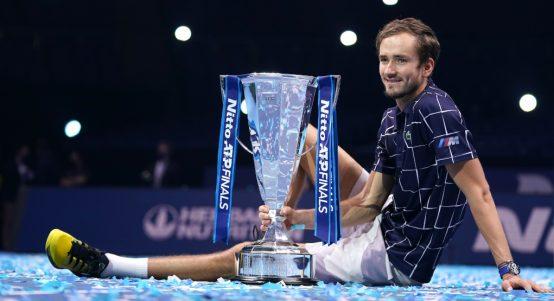 Daniil Medvedev 2020 ATP Finals champion