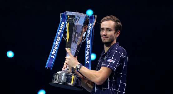 Daniil Medvedev ATP Finals champion