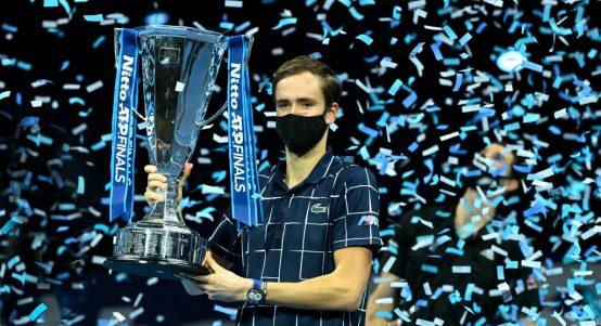 ATP Finals champion Daniil Medvedev