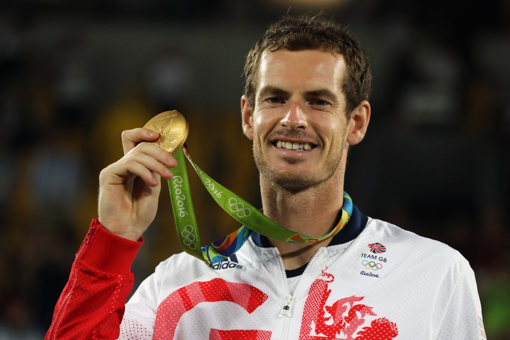 Andy Murray Olympic champion