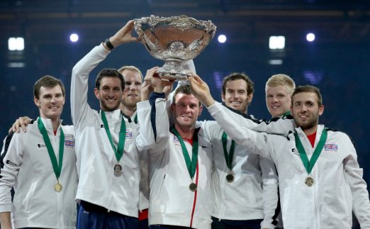 Great Britain 2015 Davis Cup winners