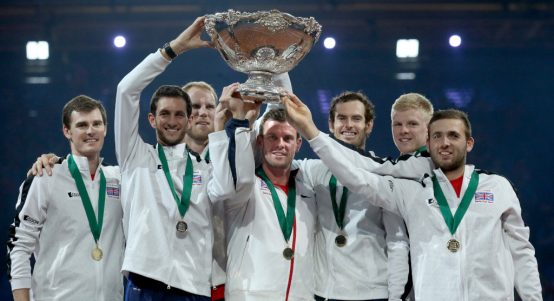 Great Britain 2015 Davis Cup winners