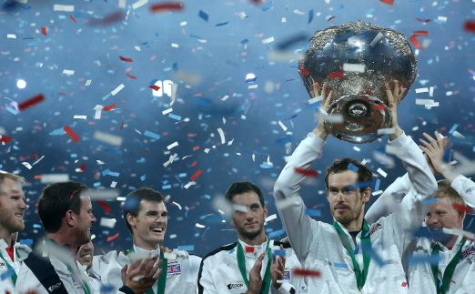 Andy Murray Great Britain Davis Cup glory