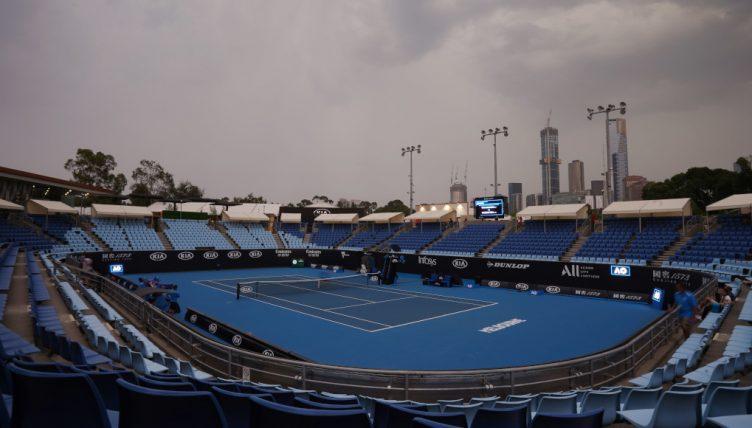 Melbourne Park Australian Open general
