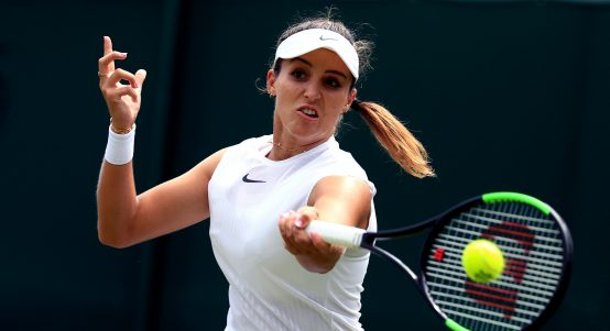 Laura Robson forehand