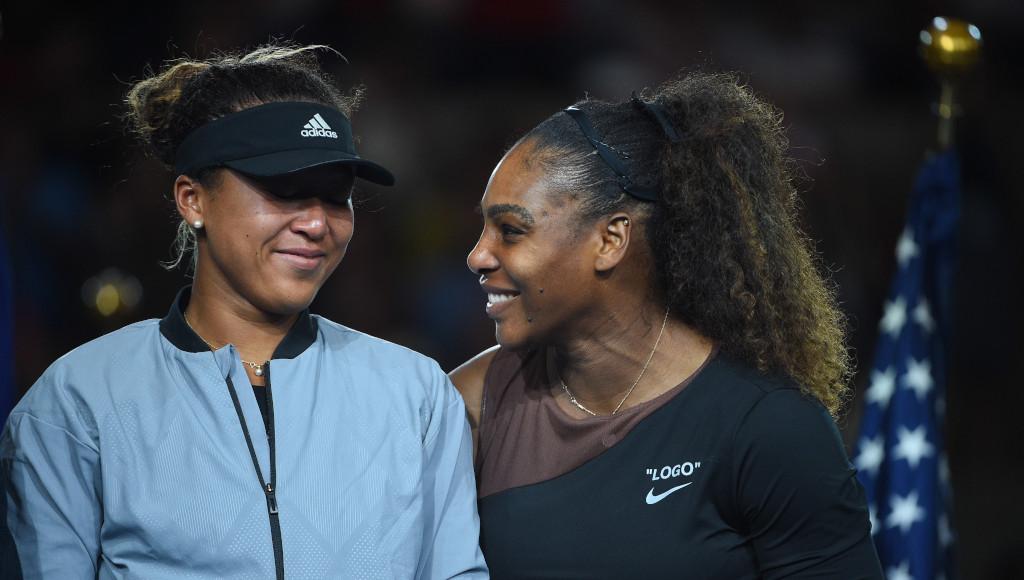 Naomi Osaka and Serena Williams 2018 US Open final