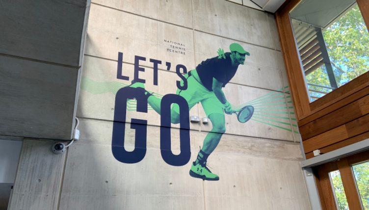 LTA's National Tennis Centre - Andy Murray