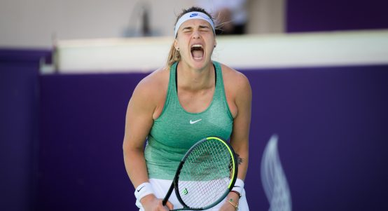 Aryna Sabalenka delighted
