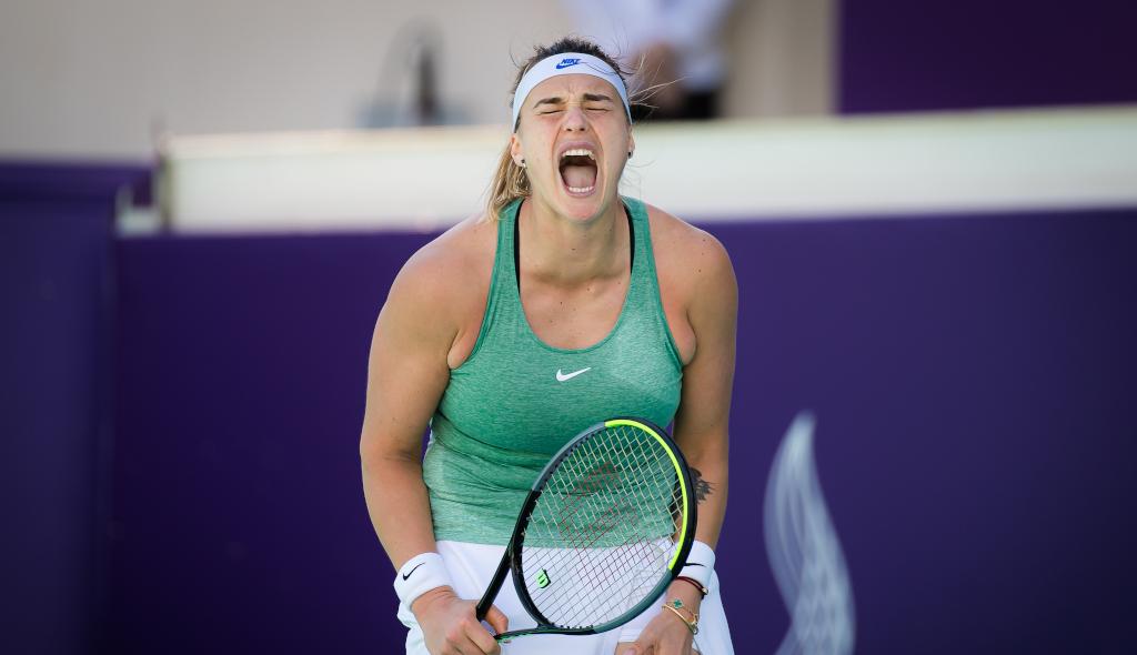 Aryna Sabalenka delighted
