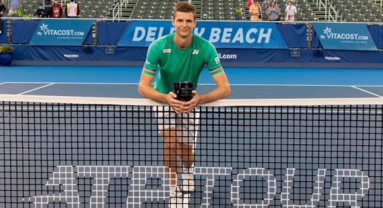 Hubert Hurkacz Delray Beach Open champion