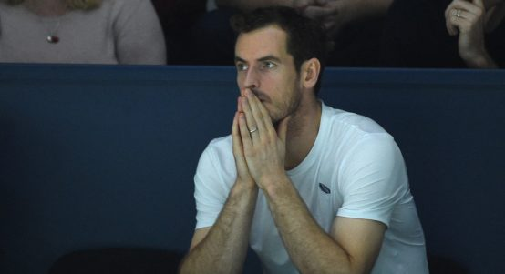 A pensive Andy Murray