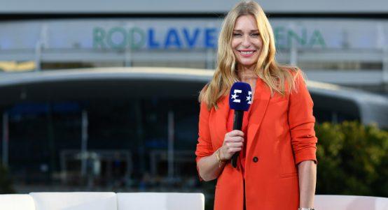 Eurosport analyst Barbara Schett