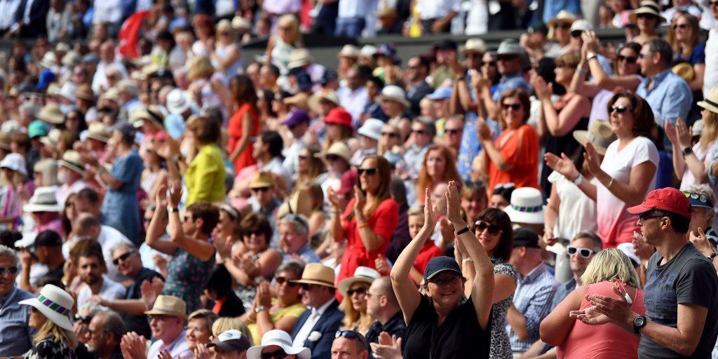 Australian Open crowds