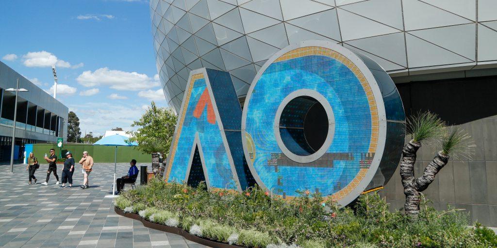 Australian Open Melbourne logo