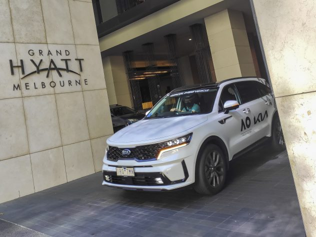 The employee at the Grand Hyatt hotel tested positive on Wednesday