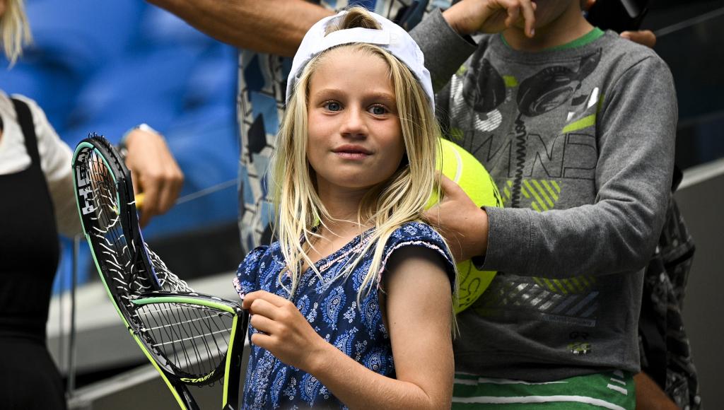 Alexander Zverev's smashed racket