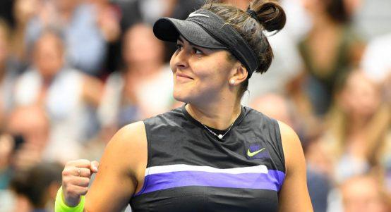Bianca Andreescu pleased