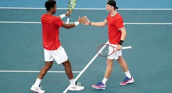 Felix Auger-Aliassime and Denis Shapovalov