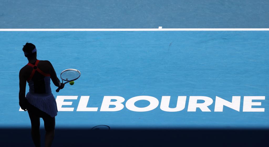 Bianca Andreescu at Australian Open