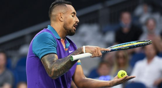 All-action Nick Kyrgios