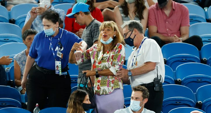 Rafael Nadal heckler at Australian Open