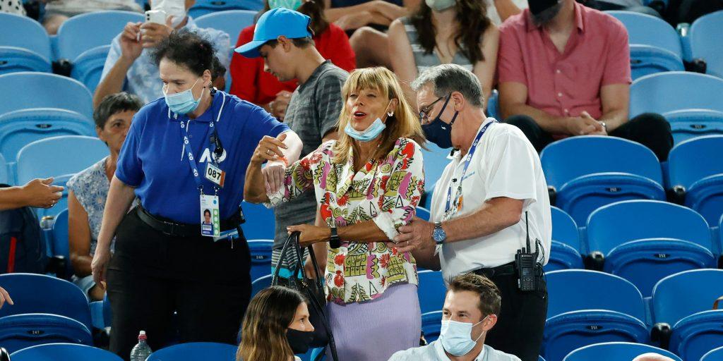 Rafael Nadal heckler at Australian Open