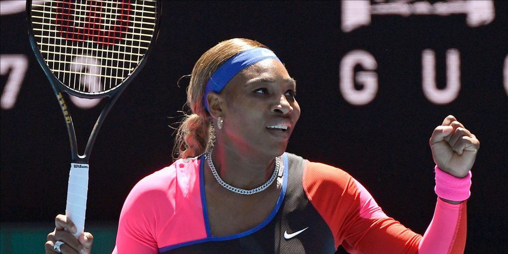 Serena Williams pleased