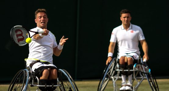 Gordon Reid and Alfie Hewett