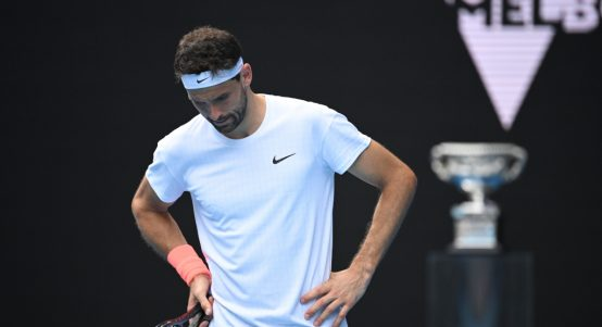 Grigor Dimitrov disappointed