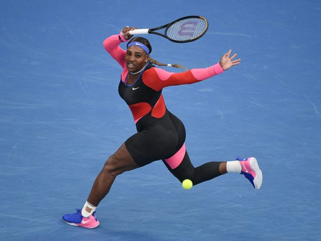 Serena Williams is benefiting from an improved level of fitness
