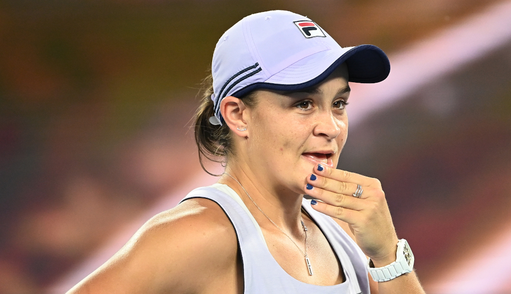 Ashleigh Barty perplexed